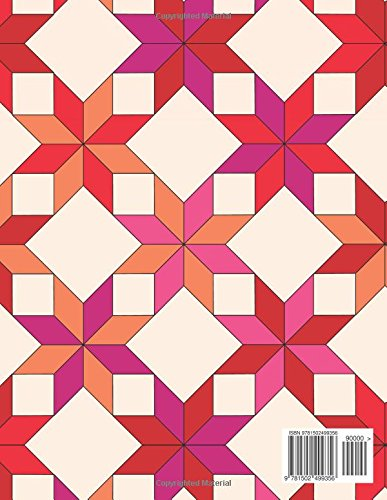 Geometric Designs & Patterns Coloring Book for Kids & Adults (Sacred