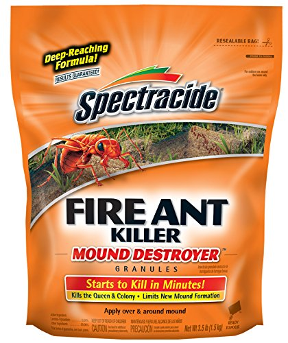 (Spectracide  53236 Fire Ant Killer Mound Destroyer Granules, 7-Pound, Pack of 1 )