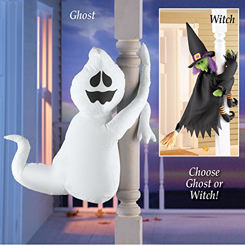 Cute Poseable Halloween Porch Decorations, Ghost by Collections Etc (Image #2)