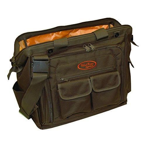 Mud River Dog Handlers Bag, 16'' x 11'' x 14'', Brown by Mudriver