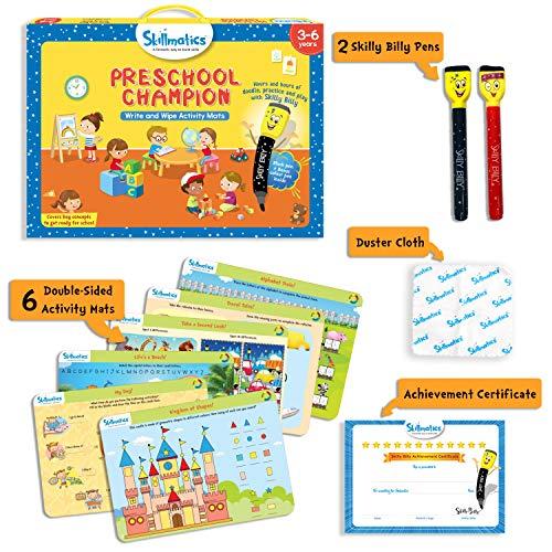 51wOLZObIkL - Skillmatics Educational Game: Preschool Champion (3-6 Years) | Creative Fun Activities for Kids