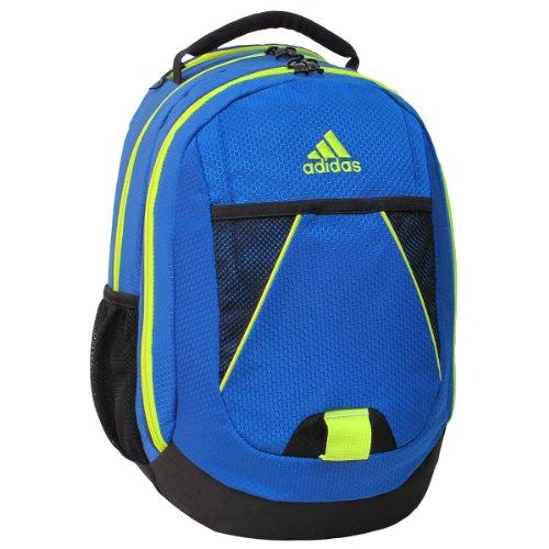 adidas Dillon Backpack, Power Blue/Solar Yellow, 17 x 12 x 11-Inch