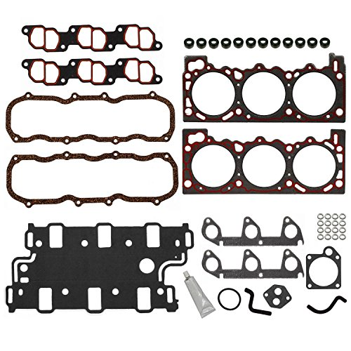Engine Cylinder Head Gasket Set Hs9724Pt-1 Replacement For Mazda Navajo 1991-1994 4.0L Compatible with Ford Aerostar 1990-1994 and Explorer 1990-1994