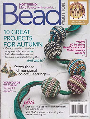 Button Magazine - Bead & Button Magazine October 2018