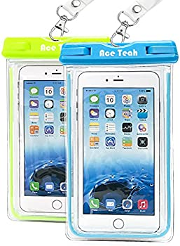 Ace Teah Waterproof Phone Case / Dry Pouch 2-Pack