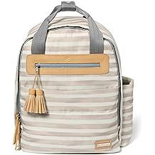 Skip Hop Riverside Ultra Light Backpack, Oyster Stripe