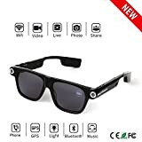 Bluetooth Camera SunGlasses 32GB