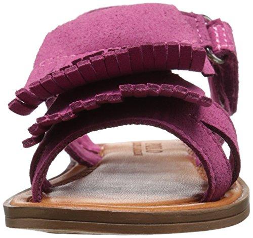 Polo Ralph Lauren Kids Alana P Microfiber Fashion Sandal (Toddler/Little Kid/Big Kid), Pink, 5 M US Toddler
