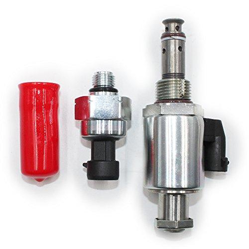 Koauto 1807329C92+122-5053 ICP/IPR Fuel Pressure Refulator & Sensor Fit  International Navistar DT466 DT466E