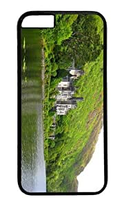 MOKSHOP Adorable kylemore abbey castle Hard Case Protective Shell Cell Phone Cover For Apple Iphone 6 (4.7 Inch) - PC Black