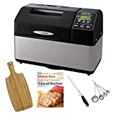 Zojirushi BB-CEC20 Home Bakery Supreme 2-Pound-Loaf Breadmaker plus Accessory Bundle