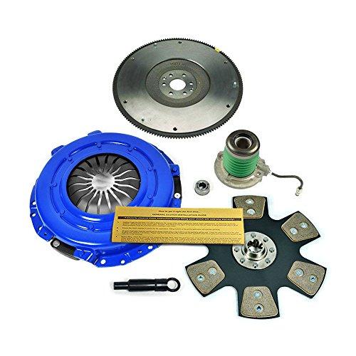 EFT STAGE 4 CLUTCH KIT+FLYWHEEL 2005-2010 FORD MUSTANG 4.6L V8 SHELBY GT BULLITT ()