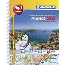 France 2018 - Tourist & Motoring atlas A4-Spiral 2018