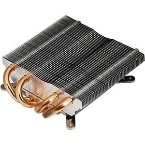 Titan TTC-NC25/HS Procesador Radiador - Ventilador de PC (Procesador, Radiador, Socket AM2, Socket AM3, Socket AM3, - AMD K8/AM2/AM2+/AM3: Phenom II X6 Black Edition 1090T / Phenom II X6 1055T / Phenom II X4..., Aluminio, Cobre, 106 mm)