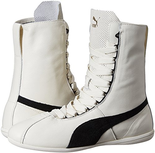 black De White Mujer whisper Blanc Deporte Puma Hi Zapatillas Eskiva Blanco CwqRvR