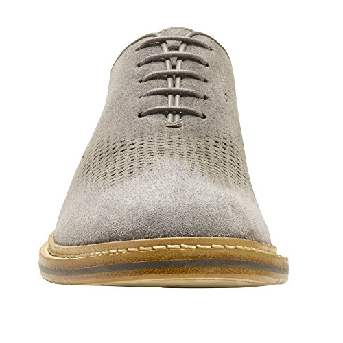 ebay sale online Cole Haan Mens Washington Grand Unlined Laser Wingtip Oxford Thundercloud Suede sale nicekicks the cheapest cheap price thql5MCw3P