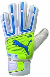 Puma PowerCat 3.12 Protect Soccer Goalie Glove, White, 7