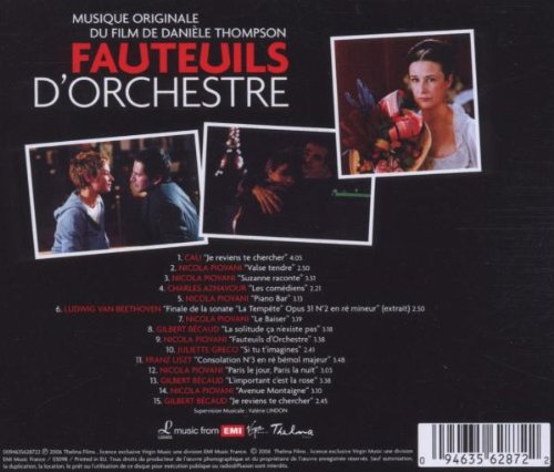 Fauteuils D'Orchestre by EMI France