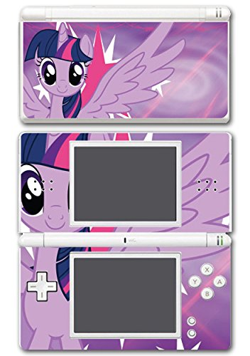 My Little Pony Friendship is Magic MLP Twilight Sparkle Video Game Vinyl Decal Skin Sticker Cover for Nintendo DS Lite System (My Little Pony Xbox)