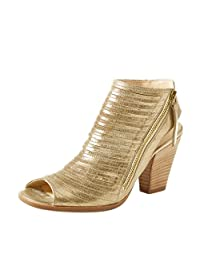 YDN Women Chunky Heels Peep Toe Booties Ankle High Shoes Pumps Sandal Summer