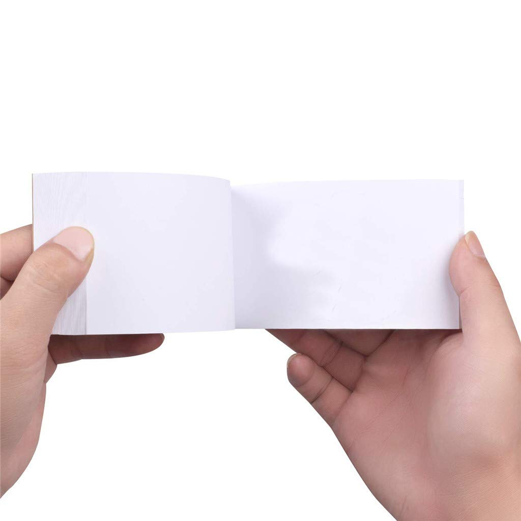 """TANGNADE Blank Flipbooks for Animation 80 Sheets 4.5/"""" x 2.5/"""" Sketching and Cartoon Creation 10 Pack No Bleed Drawing Paper with Sewn Binding 160 Pages Creative Craft for Kid"""