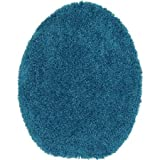 Mainstays Basic Bath Toilet Seat Cover, Solid (Turquoise)