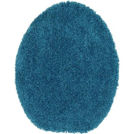 Mainstays Basic Bath Toilet Seat Cover, Solid (Turquoise) by Mainstay