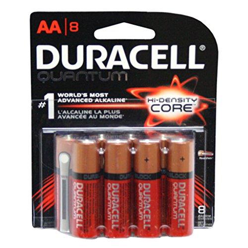 Quantum Alkaline Batteries With Duralock Power Preserve Technology, Aa, 8 Pack
