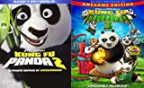 Kung Fu Panda Blu Ray Blu Ray DVD part 2 & 3 Animated Bundle Cartoons Dreamworks movie Set