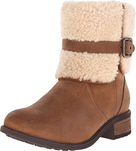 Women's Ugg Blayre Ii Shearling Cuff Bootie, Size 9 M - Brow