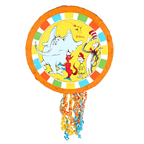BirthdayExpress Dr Seuss Cat in the Hat Party Supplies - Pinata by BirthdayExpress