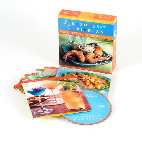 Search : Pleasures of the Caribbean (MusicCooks: Recipe Cards/Music CD), Caribbean Recipes, Reggae and Calypso Music (Sharon O'Connor's Musiccooks)