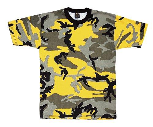 Stinger Yellow Camo T-Shirt - Size: 2XL