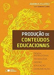 Produção de conteúdos educacionais