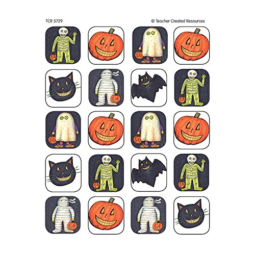Teacher Created Resources Halloween Stickers from Susan Winget, Multi Color -