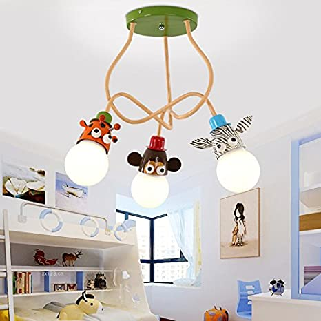 SUHANG lampadario Il Ragazzo Camera Da Letto Bambino Lampada Bedroom ...