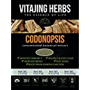 Organic Codonopsis Root Extract Powder (2oz / 57gm) | 20:1 Concentration (Also Known As Dang Shen, Poor Mans Ginseng)