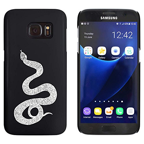 (Azeeda Black 'Scaly Snake' Case / Cover for Samsung Galaxy S7 (MC00054207))