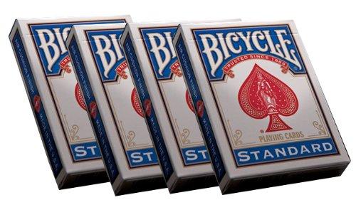 Spielkarten Bicycle (format poker) par 72 (blau)