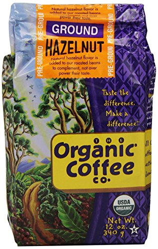 The-Organic-Coffee-Co-Ground-Hazelnut-12-Ounce-Pack-of-3