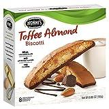 Nonni's Toffee Almond Biscotti Cookies 6.88 oz