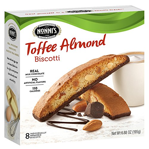 (Nonni's Biscotti, Toffee Almond, 8 Count, 6.88 Ounce)
