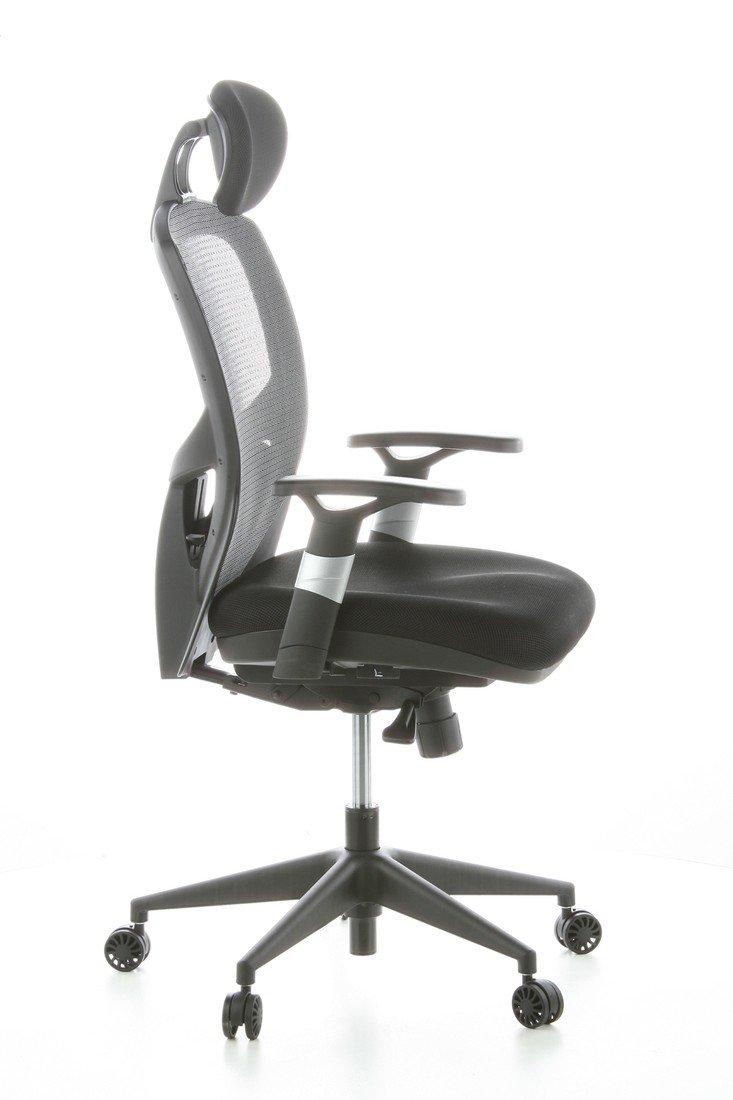 HJH Office VENUS BASE Silla de oficina Negro 48.0x63.0x124.0 cm