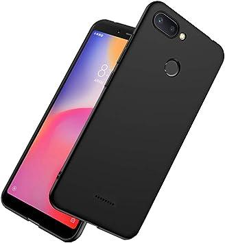 LAYJOY Funda Xiaomi Redmi 6, Carcasa Ligera Silicona Suave TPU Gel ...
