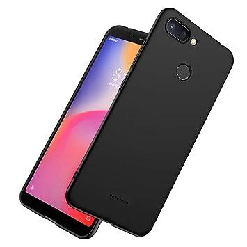 LAYJOY Funda Xiaomi Redmi 6, Carcasa Ligera Silicona Suave TPU Gel Bumper Case de Protectora [Antideslizante] [Anti-Golpes] Cover Caso para Xiaomi ...