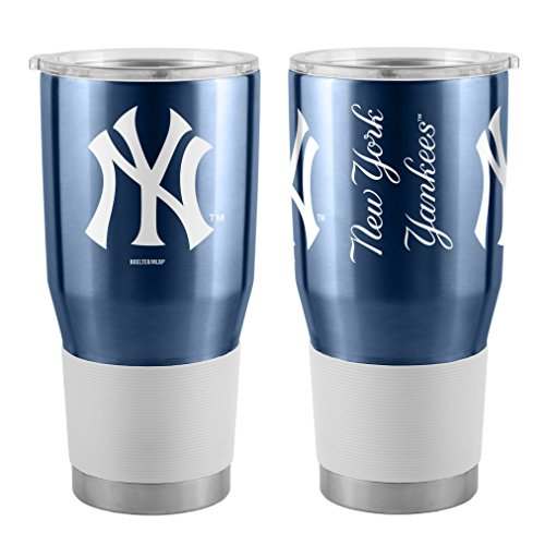 Boelter MLB New York Yankees 30 oz. Ultra Tumbler MLB New York Yankees, Black, Small