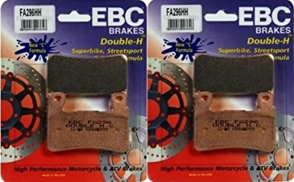 Amazon.com: EBC Sintered Double H Front Brake Pads (2 Sets ...