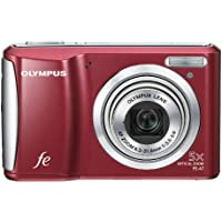 Olympus FE-47 14 MP Digital Camera with 5x Optical Zoom and 2.7-inch LCD (Red) (Old Model)