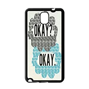 2014 New & Fashion Star DIY Okay The Fault in Our Stars for Samsung Galaxy Note 3 Best Durable case AD133314