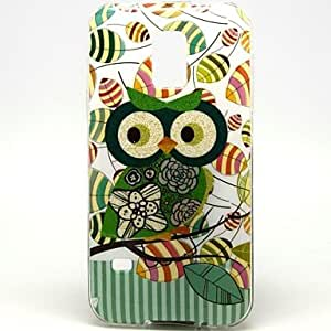 JAJAY- Little Owl Pattern Soft Case for Sumsang Galaxy S5Mini